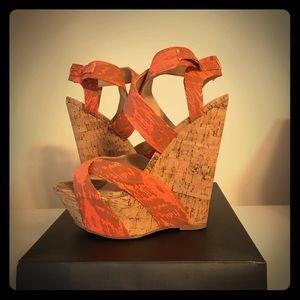 Summer sandal heel